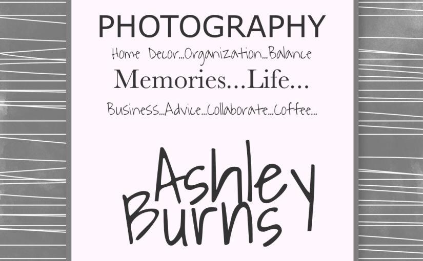 Guest Blogger: AshleyBurns